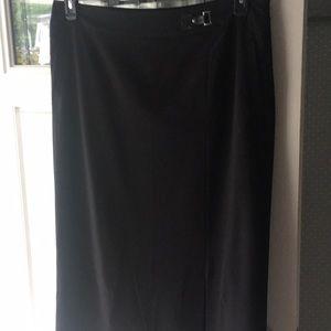 Black dressy skirt